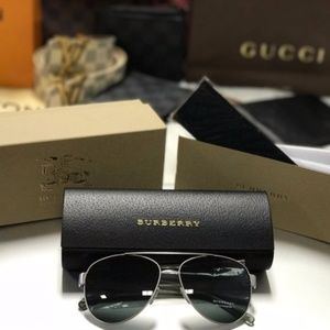 Other - NWT Authentic Burberry Aviator Sun Glasses